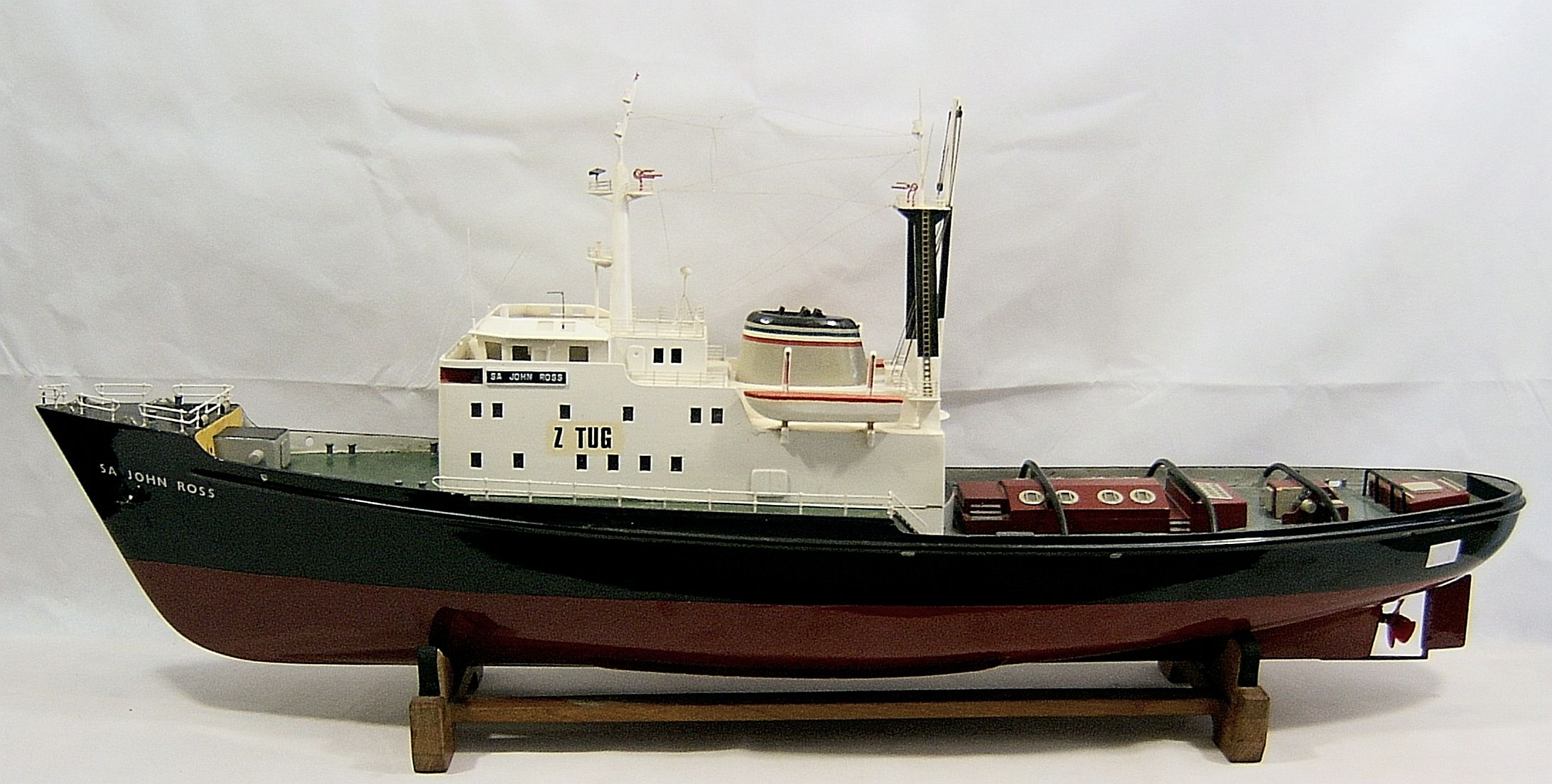 Large Model Ocean Going Salvage Tug S A John Ross