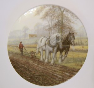 Royal Doulton Collection - His Hand to the Plough
